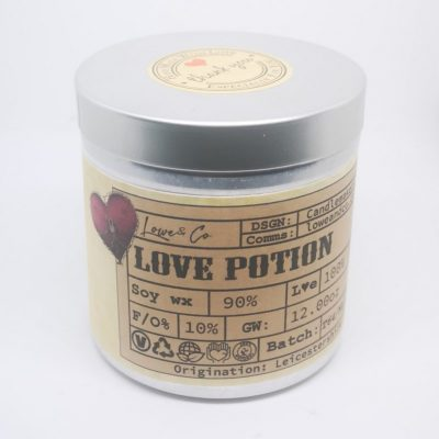 Love Potion Soy Tin Candle