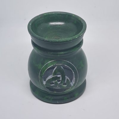 Green Soapstone OIL Burner