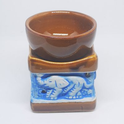 Elephant Design OIL Burner Tan