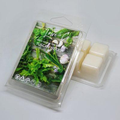Tuscan Herbs Clamshell Wax Melts