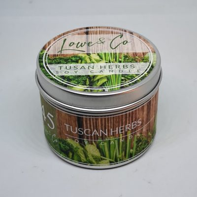 Tuscan Herbs travel candle