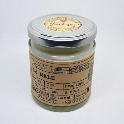 Le Male Jar Candle