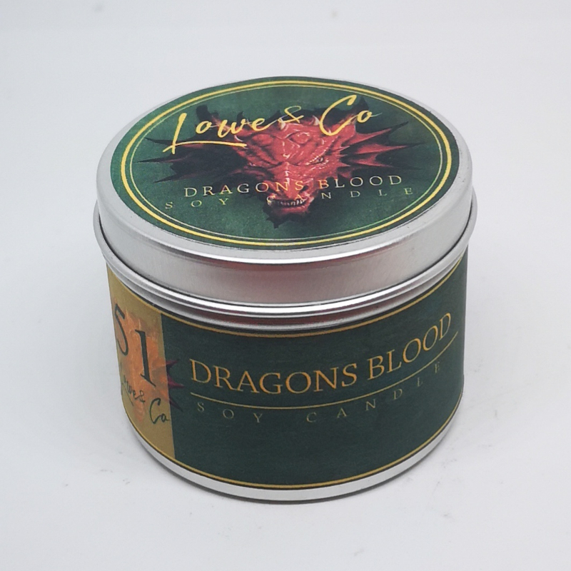 Dragons Blood Travel Candle