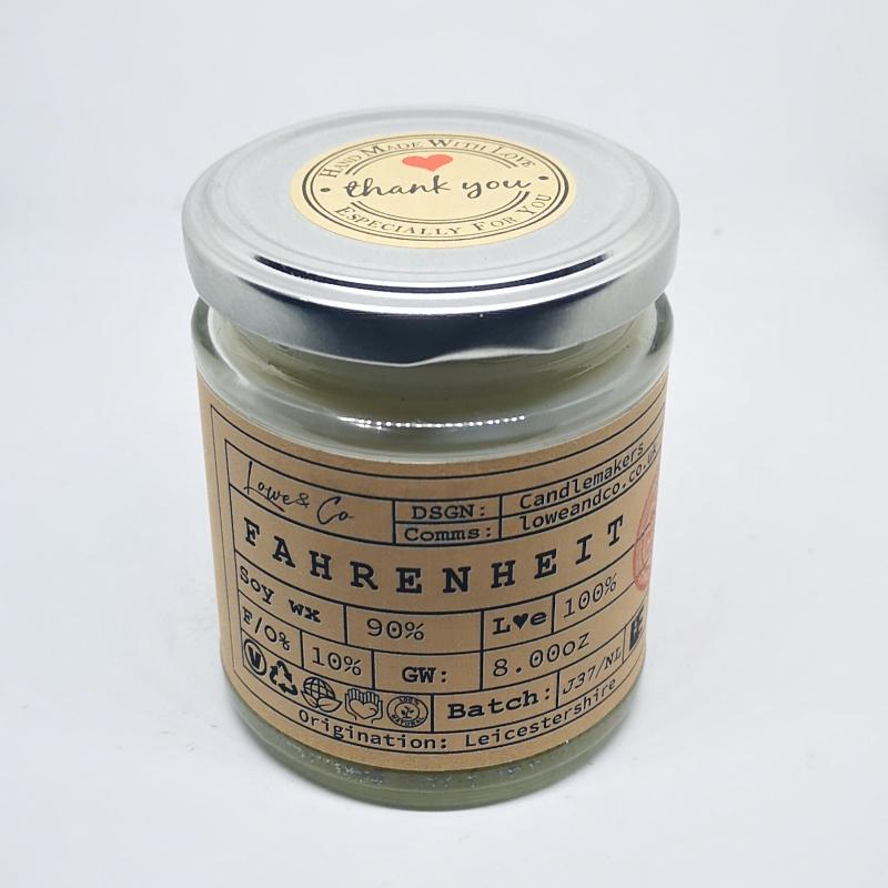 Fahrenheit Jar Candle