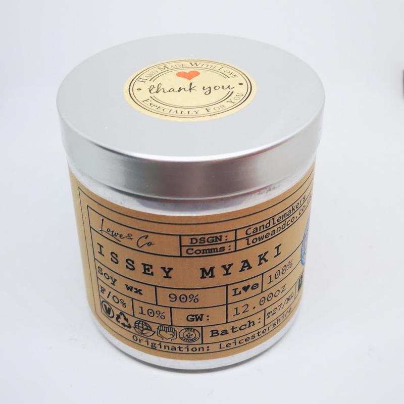 Issey Myaki Soy Tin Candle