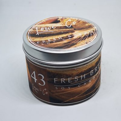 Fresh Bread travel candle
