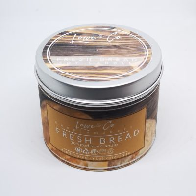 Fresh Bread Soy Tin Candle