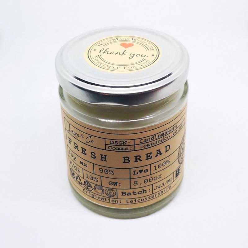 Fresh Bread Jar Candle