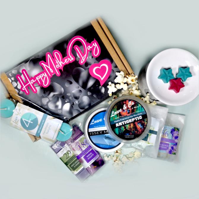 Build-a-Burner Gift Set. Personalised Soy Wax Melt and burner gift sets