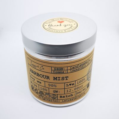 Harbour MistSoy Tin Candle