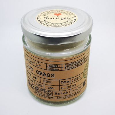Cut Grass Jar Candle