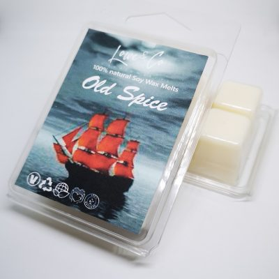 Old Spice Clamshell Wax Melts