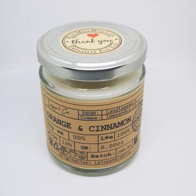 Orange & Cinnamon Jar Candle