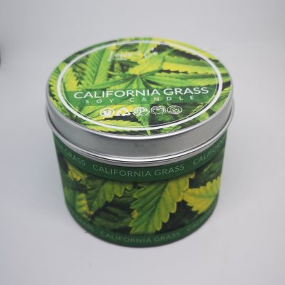 California Grass Soy Tin Candle.