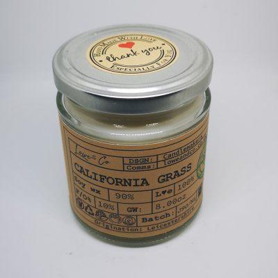 California Grass Jar Candle.