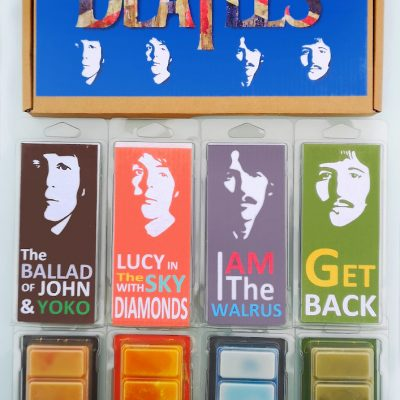 Beatles wax melts collection